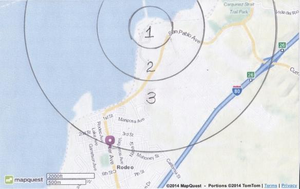 blast zone map