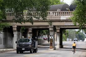 train bridge overhead